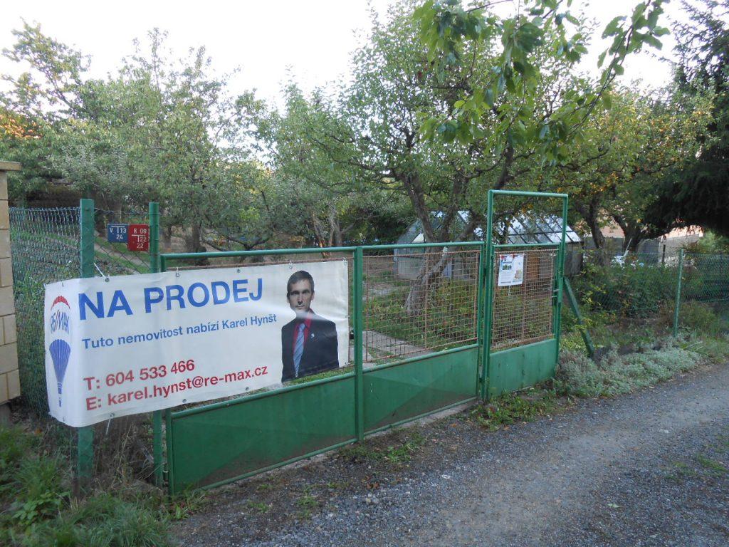 Zahrada s chatou v Brně-Útěchově